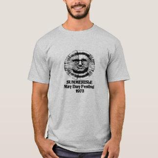 Festival 1973 för Summerisle majdag T-shirt