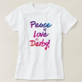 Festlig fredkärlekDerby berömd hästkapplöpning T Shirt