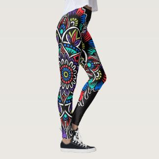 Festlig Mandala Leggings