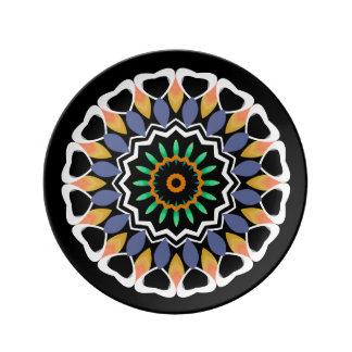 Festlig Mandala Porslinstallrik