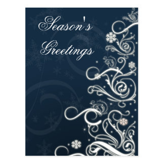 festliga julhälsningvykort vykort