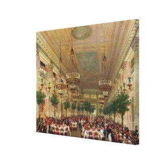 Festmåltid på Tuileriesen som firar Canvastryck