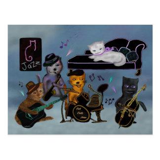 Fet kattsylt vykort