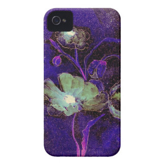Feta gröna vallmor för björnbär--Djärvt iPhone 4 Fodral