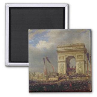 Fete de la Fraternite på Arcet de Triomphe Magnet