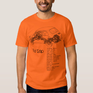 Fiat 126p tee shirts