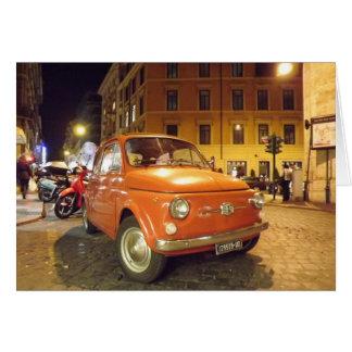 Fiat i Rome Hälsningskort