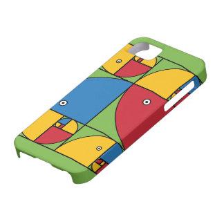 Fibonacci papegojor iPhone 5 skal