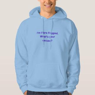 Fibro fördunklade skjortor sweatshirt