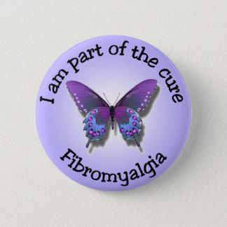 Fibromyalgiamedvetenheten knäppas standard knapp rund 5.7 cm
