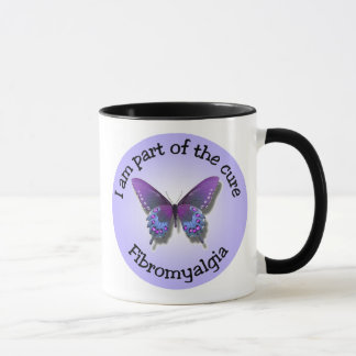 Fibromyalgiamedvetenhetmugg Mugg