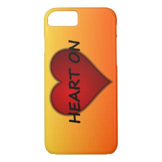 Fick en hjärta på valentin dagiphone case