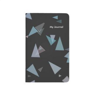 Fick- journal för modern pastellfärgad