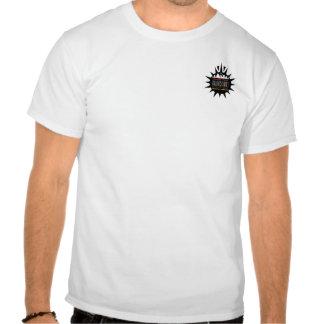 Fick- logotyp för svart sol t shirt