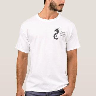 Fick- svart drake tshirts