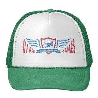 Fictional logotyp för vintageflyg - hatt keps