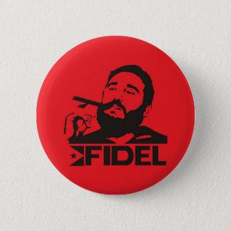 Fidel Castro Standard Knapp Rund 5.7 Cm