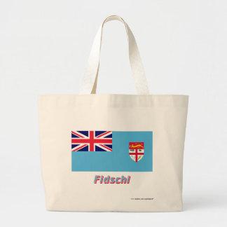 Fidschi Flagge mit Namen Kassar