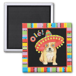 Fiesta Frenchie Magnet