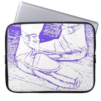 Fifthen placerar laptop sleeve