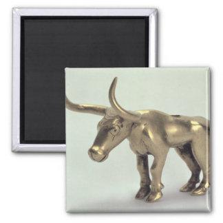 Figur av en tjur magnet
