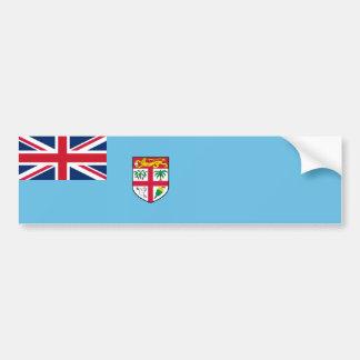 Fiji - Fijianmedborgareflagga Bildekal