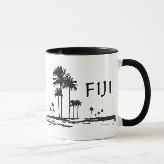 Fiji - grafiska palmträd mugg