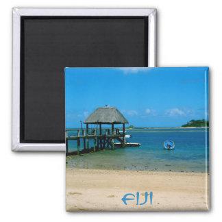 Fiji - paradis som finnas på den Malolo ön Magnet