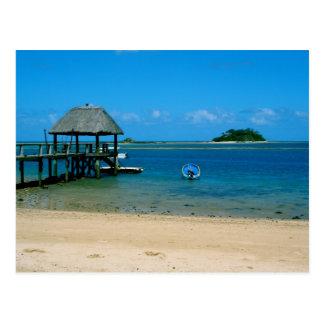 Fiji - paradis som finnas på den Malolo ön Vykort