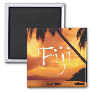 Fiji reser magneter för fotosouvenirkylen
