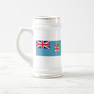 Fijiansk mugg för flagga~-karta