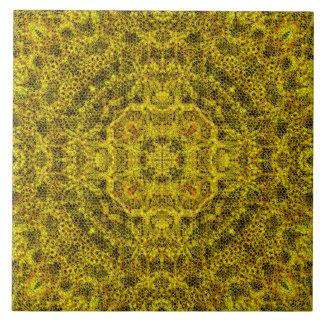 Filigree Goldweb Stor Kakelplatta