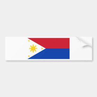 Filippinsk flagga för öar   Pinoy för flagga   fil Bildekal
