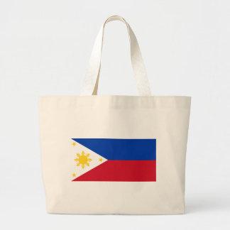 Filippinsk flagga jumbo tygkasse