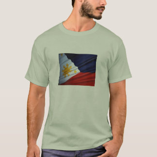 Filippinsk flagga tee shirts