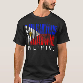 Filippinsk flaggaBarcode T-shirts