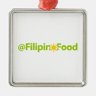 Filippinsk mat julgransprydnad metall