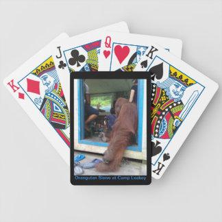 Film för OrangutanSiswe klockor som IMAX leker Spelkort