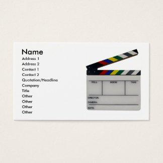 Film kritiserar visitkorten för visitkort