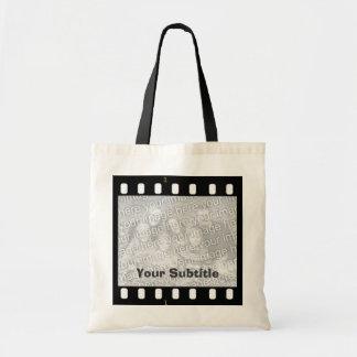 Filma hantverk & shopping för kanfas för remsafoto budget tygkasse