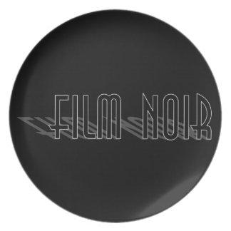 Filma Noir (skugga long), Tallrik
