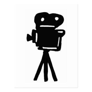 Filma projektorn vykort