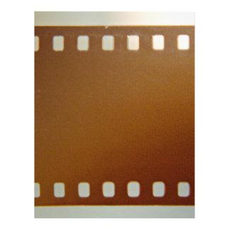 Filma rullfärg brevhuvud