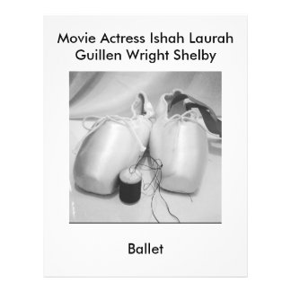 FilmaktrisLaura Guillen aka Ishah balett Reklamblad