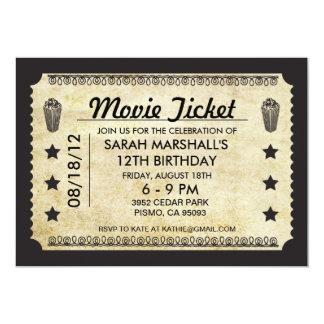 Filmbiljett 12,7 X 17,8 Cm Inbjudningskort