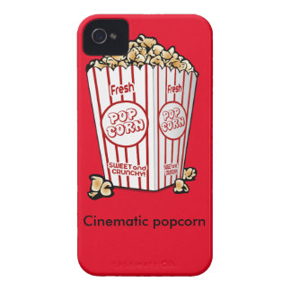 Filmisk popcorn iPhone 4 Case-Mate fodral