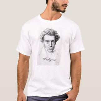Filosof Soren Kierkegaard Tshirts