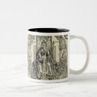 Filosofi och en Habsburg kejsare Två-Tonad Mugg