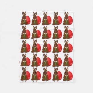 Filt för chokladpåskhareull