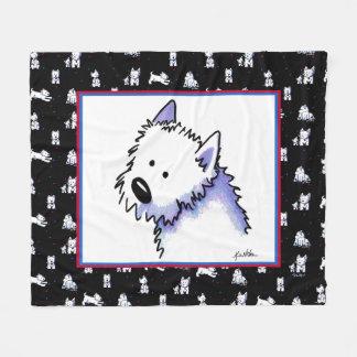 Filt för KiniArt Westie Terriersull